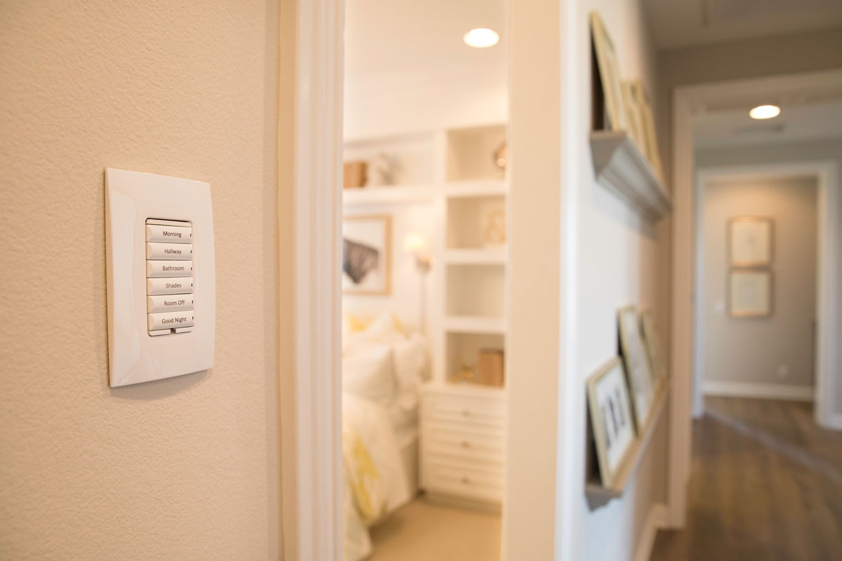 automated lighting keypad
