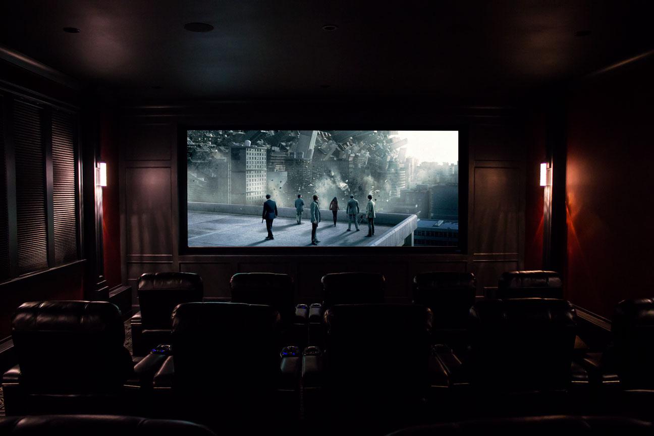 home theatre inception
