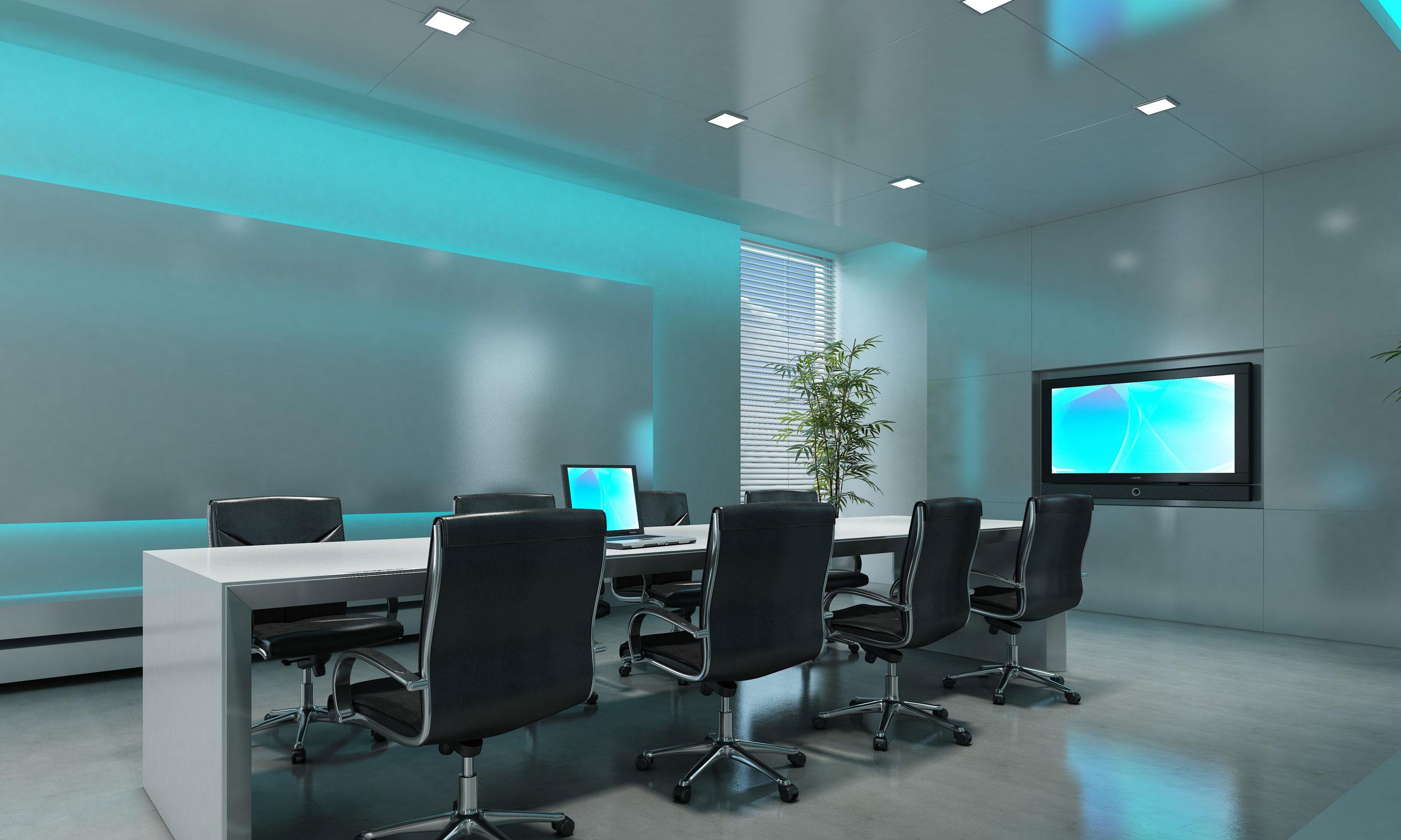 boardroom ambient lighting
